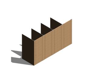 Product: Marante Veneer Cubicle System