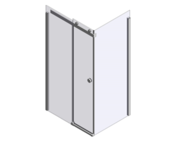 Bim, content,object,component,BIM, Store, Revit,free,original, library, merlyn, showering, shower, bath, enclosure, enclosures,easy, clean, bathscreen, Series, 10, 10Series, sliding, Door