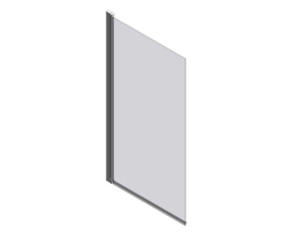 Revit, BIM, Download, Free, Components, object, objects, Merlyn, Bath, Shower, Screen, Enclosure, Door, MB2, Bathscreen