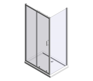 Product: MBOX Sliding Door With Side Panel