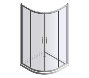 Product: MBOX Two Door Loft Quadrant