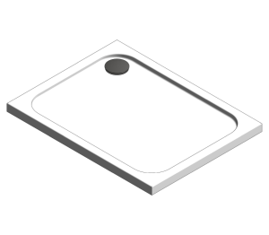 Product: Touchstone Rectangular Shower Tray