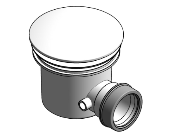 Revit, BIM, Download, Free, Components, object, objects, Merlyn, 90mm, fast, flow, tray, waste,