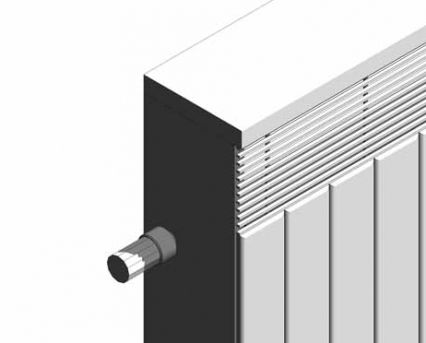 Vertical LST Radiators