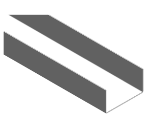 Product: SFS Framing Un-Lipped M - Tracks