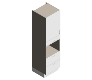 Product: Definitive - High Appliance - Microwave Coffee Drawers