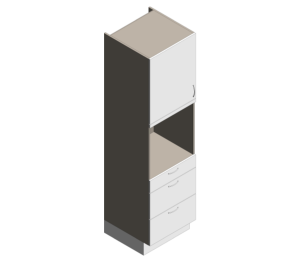 Product: Definitive - High Appliance - Single Oven Drawers