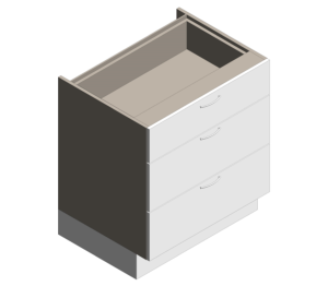 Product: Definitive - Multi Drawers Units