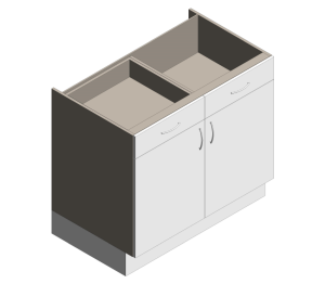 Product: Definitive - Sink Unit 9106SD / 9106SD