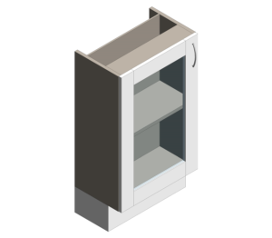Product: Definitive - Wall Single Base Glass