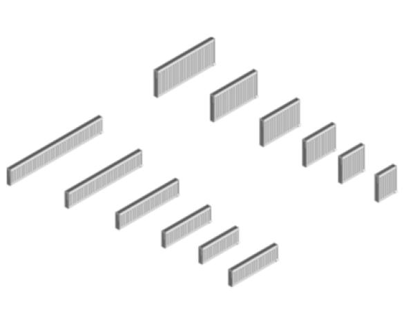 Revit, BIM, Download, Free, Components, object, objects, Myson, radiator, heating, mechanical, range, equipment, radiators, Finesse