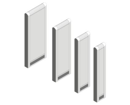 Revit, BIM, Download, Free, Components, object, objects, Myson, radiator, heating, mechanical, range, equipment, radiators, LST, Vertical