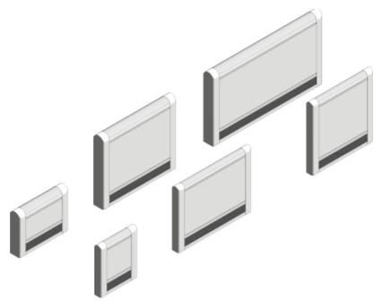Revit, BIM, Download, Free, Components, object, objects, Myson, radiator, heating, mechanical, range, equipment, radiators, LST, Super, Plus