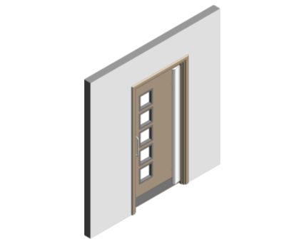 Revit, BIM, Download, Free, Components, Doorset, Single, Fire, Door, Doors, Finger, Guard, Education, School