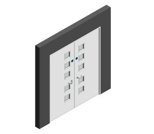 Product: Series 2-7 - 30,60,90,120 min Fire Door (Double NG4)