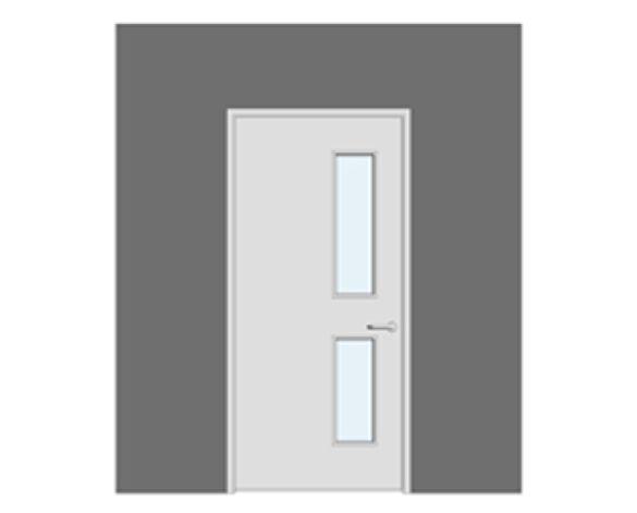 Revit, BIM, Download, Free, Components, Doorset, Single, Acoustic, Door, Doors, Series, SR40, NG12