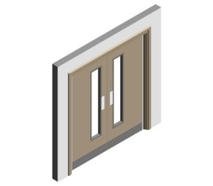 Product: SUREclose Double Doorset