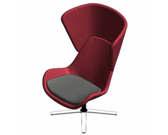 Avi High Or Low Back Lounge Chair Bimstore