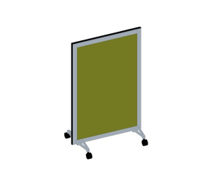 Product: Bay - Mobile Room Privacy Screens 100 Series - 1270mm High