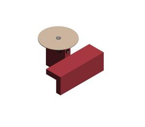 Product: Border – Upholstered Cafe Island