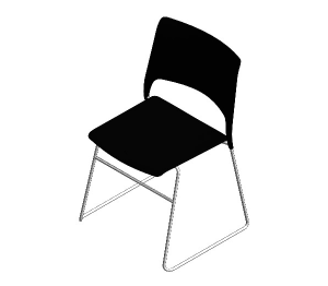 Product: Cors High Density Stacking Chair