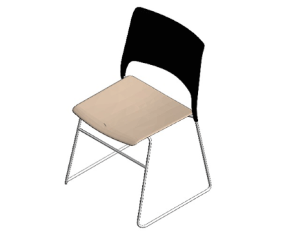 Image of Cors High Density Stacking Chair