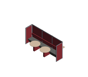 Product: Cove Screen / Room Division - Touchdown (TO-40)