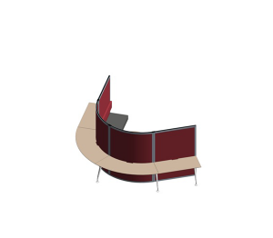 Product: Cove Screen / Room Division - Touchdown (TO-50)