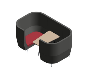Product: Cwtch Double High Back Alcove Module