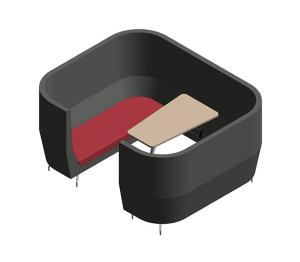 Product: Cwtch Treble High Back Alcove Module
