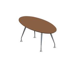 Product: Pars Oval Meeting Tables