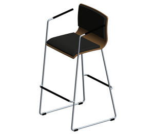 Product: Peak – Bar / High Café Stool