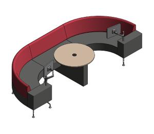 Product: Perimeter Sofa Example Configurations