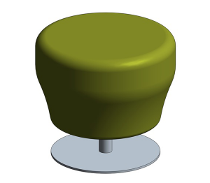 Product: Point – Stool / Poofe / Pouf
