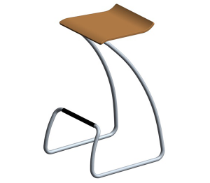 Product: Spring Bar/ High Café Stool
