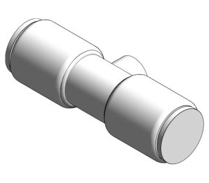 Product: PolyFit Chrome Plated Service Valve