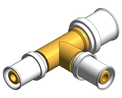 BIM, Content, Object, Component, bimstore, Autodesk, Revit, library, MEP, System, Nominal Diameter, Polypipe, PolySure, Brass, Bent, Tap, Connector