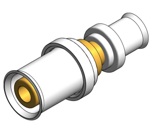 Product: PolySure - Brass - Socket x Socket Reducer