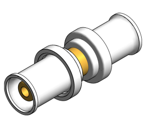 Product: PolySure - Brass - Straight Couplers