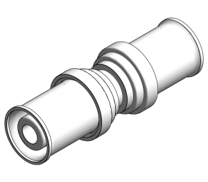 Product: PolySure - PPSU - Straight Couplers