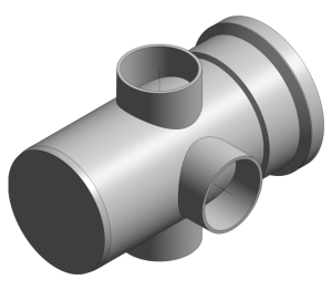 Product: Ring Seal Soil - 3 Way Boss Pipe