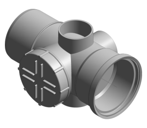 Product: Ring Seal Soil - Access Pipe