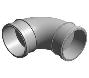 Product: Ring Seal Soil - SKT-SKT Bend 87.5°