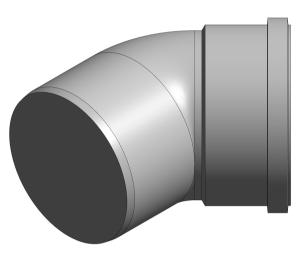 Product: Ring Seal Soil - SKT-SPGT Bend 45°
