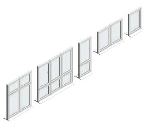 Product: Flush Casement Windows