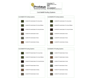 Product: Cold-Melt Flat Roofing