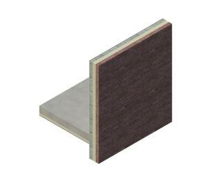 Product: External Masonry Cavity Wall (Concrete Ground Bearing Floor)