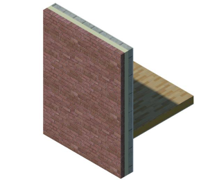 Product: External Masonry Cavity Wall (Intermediate Timber Floor)