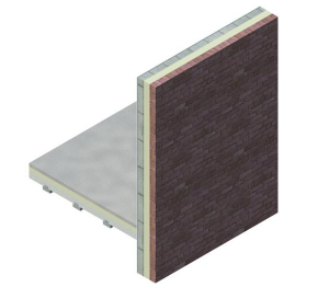 Product: External Masonry Cavity Wall (Suspended Beam & Block Floor)