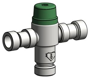 Product: Ausimix Compact Thermostatic Mixing Valve